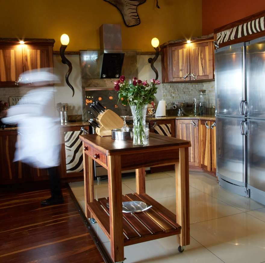 Phumelelo lodge Kitchen