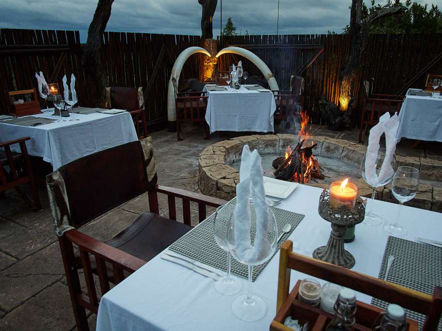Phumelelo lodge terrace